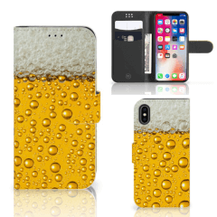 Apple iPhone X | Xs Book Cover Bier