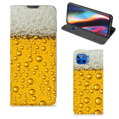 Motorola Moto G 5G Plus Flip Style Cover Bier