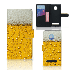 Motorola Moto Z2 Play Book Cover Bier