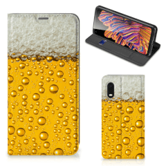Samsung Xcover Pro Flip Style Cover Bier