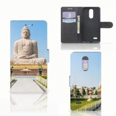 LG K4 (2017) Flip Cover Boeddha