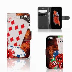 Apple iPhone 6 | 6s Wallet Case met Pasjes Casino