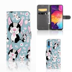 Samsung Galaxy A50 Telefoonhoesje met Pasjes Hondjes