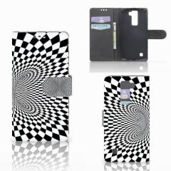 LG K8 Bookcase Illusie