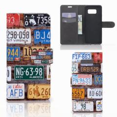 Samsung Galaxy S8 Plus Telefoonhoesje met foto Kentekenplaten