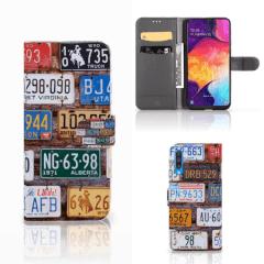 Samsung Galaxy A50 Telefoonhoesje met foto Kentekenplaten