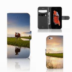 Apple iPhone 6   6s Telefoonhoesje met Pasjes Koe