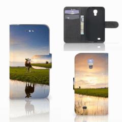 Samsung Galaxy S4 Telefoonhoesje met Pasjes Koe