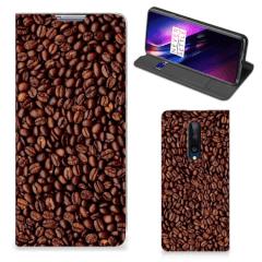 OnePlus 8 Flip Style Cover Koffiebonen
