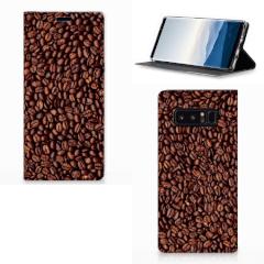 Samsung Galaxy Note 8 Flip Style Cover Koffiebonen