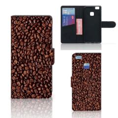 Huawei P9 Lite Book Cover Koffiebonen