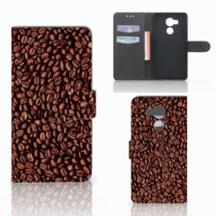 Huawei Mate 8 Book Cover Koffiebonen