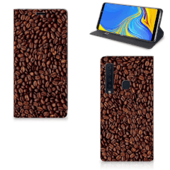 Samsung Galaxy A9 (2018) Flip Style Cover Koffiebonen