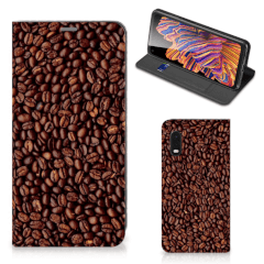 Samsung Xcover Pro Flip Style Cover Koffiebonen