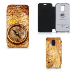Boekhoesje Samsung Galaxy S5 Mini met eigen foto