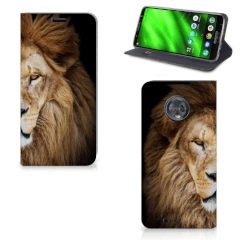 Motorola Moto G6 Hoesje maken Leeuw