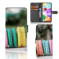 Samsung Galaxy A41 Book Cover Macarons