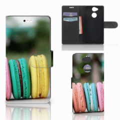 Sony Xperia XA2 Book Cover Macarons