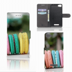 Wiko Lenny 2 Book Cover Macarons
