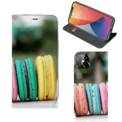 iPhone 12 Pro Max Flip Style Cover Macarons
