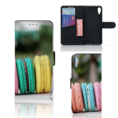 Sony Xperia L3 Book Cover Macarons