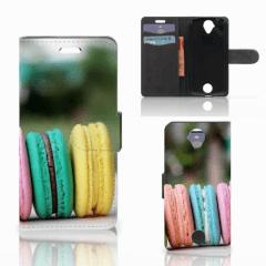 Acer Liquid Z330 Book Cover Macarons