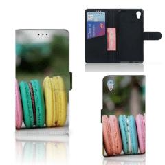 Sony Xperia XA1 Plus Book Cover Macarons