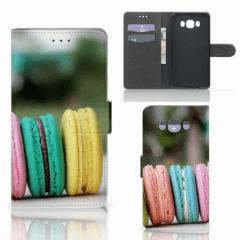 Samsung Galaxy J7 2016 Book Cover Macarons