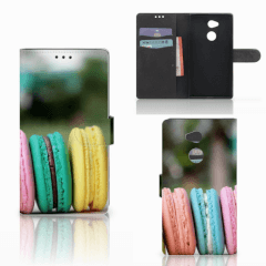 Sony Xperia XA2 Ultra Book Cover Macarons