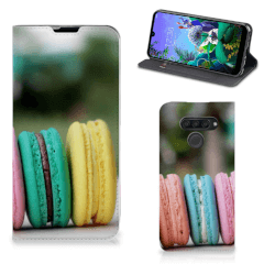 LG Q60 Flip Style Cover Macarons