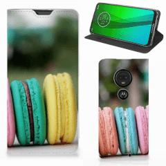 Motorola Moto G7   G7 Plus Flip Style Cover Macarons