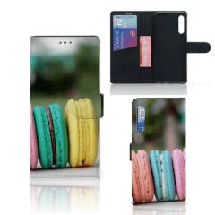 Huawei P Smart Pro Book Cover Macarons