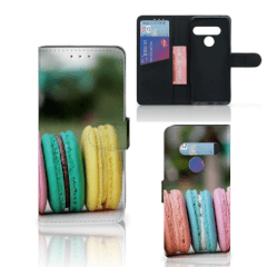LG G8s Thinq Book Cover Macarons