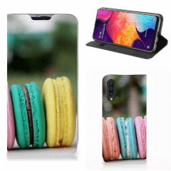 Samsung Galaxy A50 Flip Style Cover Macarons