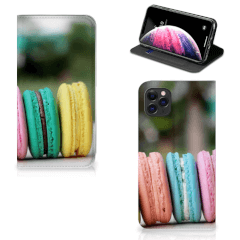 Apple iPhone 11 Pro Max Flip Style Cover Macarons