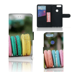 OnePlus 5T Book Cover Macarons