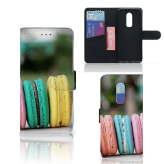 OnePlus 6 Book Cover Macarons