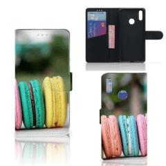 Huawei Y7 (2019) Book Cover Macarons