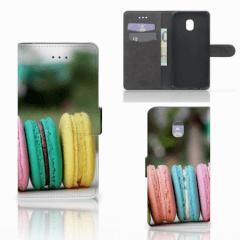 Samsung Galaxy J7 (2018) Book Cover Macarons
