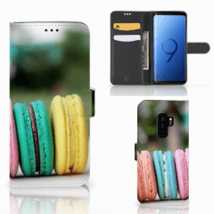 Samsung Galaxy S9 Plus Book Cover Macarons