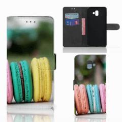 Samsung Galaxy J6 Plus (2018) Book Cover Macarons