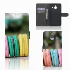 Microsoft Lumia 640 XL Book Cover Macarons