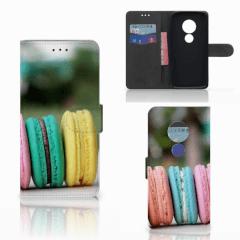Motorola Moto E5 Book Cover Macarons