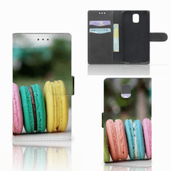 Samsung Galaxy Note 3 Book Cover Macarons