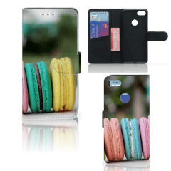 Motorola Moto E6 Play Book Cover Macarons