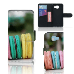 Samsung Galaxy A5 2016 Book Cover Macarons
