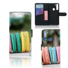 Motorola Moto G8 Book Cover Macarons