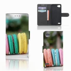 LG Q6   LG Q6 Plus Book Cover Macarons