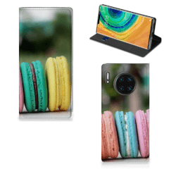 Huawei Mate 30 Pro Flip Style Cover Macarons