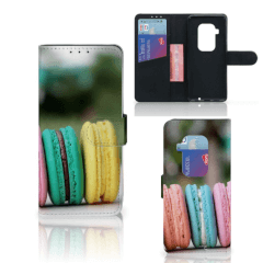 Motorola One Zoom Book Cover Macarons